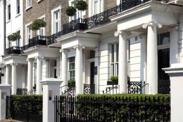 Kensington houses